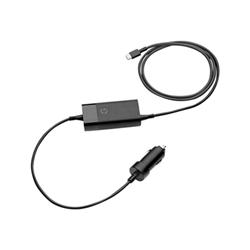 Batteria HP - Usb-c auto adapter - adattatore alimentazione per auto - 65 watt 5tq76aa