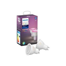 Lampadina LED Philips - Hue white and color ambiance - lampadina led con riflettore - gu10 929001953102