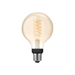 Lampadina LED Philips - Hue White Filament G93, Lampadina LED Smart, Bluetooth,attacco E27