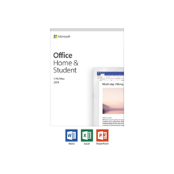 Software Office home and student 2019 box pack 1 pc/mac 79g 05156