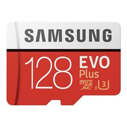 Micro SD Samsung - Evo plus mb-mc128ha - scheda di memoria flash - 128 gb mb-mc128ha/eu