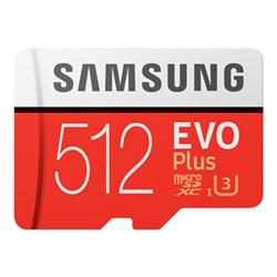 Micro SD Samsung - Evo plus mb-mc512ha - scheda di memoria flash - 512 gb mb-mc512ha/eu