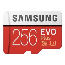 Micro SD Samsung - Evo plus mb-mc256ha - scheda di memoria flash - 256 gb mb-mc256ha/eu