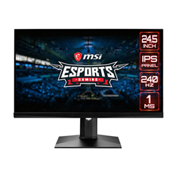 "Monitor LED MSI - Optix mag251rx - monitor a led - full hd (1080p) - 24.5"" 9s6-3ba37t-002"