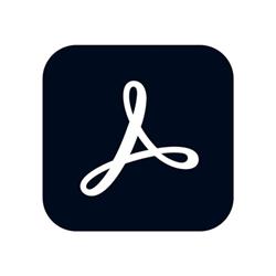 Software Adobe - Acrobat pro 2020 - box pack - 1 utente 65310800