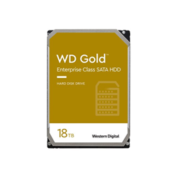 Hard disk interno Wd gold enterprise class hard drive hdd 18 tb sata 6gb/s wd181kryz