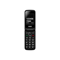 Telefono cellulare Saiet - Compact - rosso - gsm - cellulare 13500880