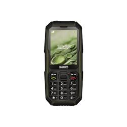 Telefono cellulare Saiet - Energy - nero - verde - gsm - cellulare 13500811