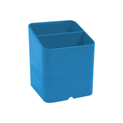 Exacompta - Clean'safe porta penne - plastica - blu 677100d