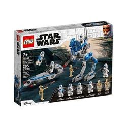 Image of 501st legion clone troopers - set costruzioni 75280