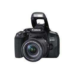 canon fotocamera reflex eos 850d - fotocamera digitale lente ef-s is stm da 18-55 mm 3925c002