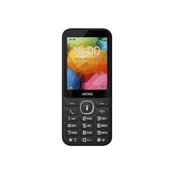 Telefono cellulare Wiko - F200 - nero - gsm - cellulare wikf200wb286blkst