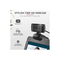 Webcam Trust - Doba 2-in-1 home office set - webcam 24036trs