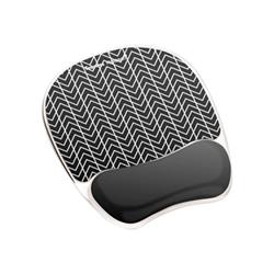 Fellowes - Photo gel tappetino per mouse con poggiapolso 9653401