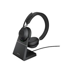 Cuffie con microfono Evolve2 65 UC Stereo con microfono Nero