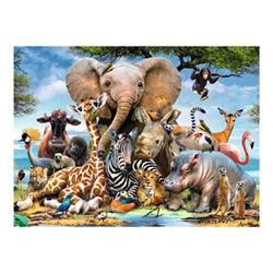 Puzzle 300xxl amici africani 130757