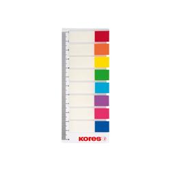 Post it KORES - Segnapagina adesivi su righello - 12 x 45 mm (pacchetto di 120) 45121