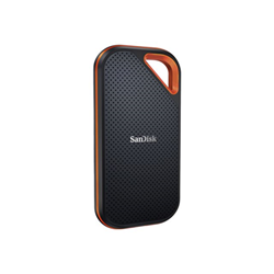 Hard disk esterno Sandisk - Extreme pro portable - ssd - 2 tb - usb 3.2 gen 2x2 sdssde81-2t00-g25