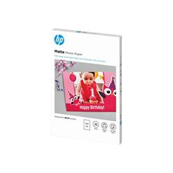 Carta fotografica HP - Carta fotografica - opaca - 25 fogli - 100 x 150 mm - 180 g/m² 7hf70a