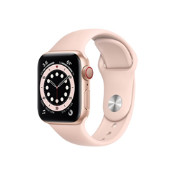 Smartwatch Apple - Watch series 6 (gps + cellular) - alluminio color oro m06n3ty/a