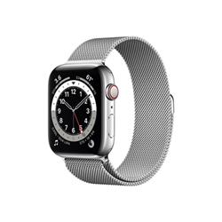 Smartwatch Apple - Watch series 6 (gps + cellular) - acciaio inossidabile argentato m09e3ty/a