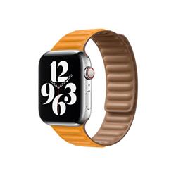 Image of 44mm leather link - cinturino per orologio per smartwatch my9q2zm/a