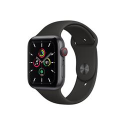 Smartwatch Apple - Watch SE GPS+Cellular 44mm alluminio grigio spaziale con cinturino Sport nero
