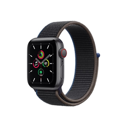 Smartwatch Apple - Watch SE GPS+Cellular 40mm alluminio grigio con cinturino Sport antracite