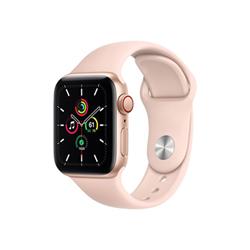 Smartwatch Apple - Watch SE GPS+Cellular 40mm alluminio oro con cinturino sport rosa sabbia