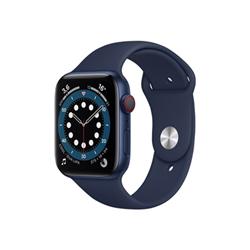 Smartwatch Apple - Watch Series 6 GPS+Cellular 44mm alluminio blu con cinturino Sport Blu marina