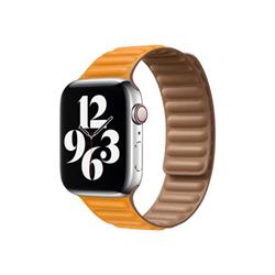 Image of 44mm leather link - cinturino per orologio per smartwatch my9p2zm/a