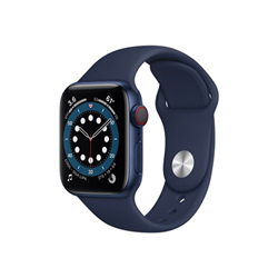Smartwatch Apple - Watch Series 6 GPS+Cellular 40mm alluminio con cinturino Sport blu