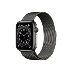 Smartwatch Apple - Watch Series 6 GPS + Cellular 40mm alluminio grigio con loop maglia milanese
