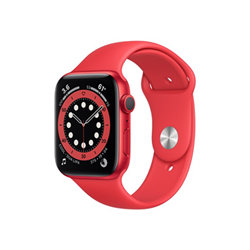 Smartwatch Apple - Watch Series 6 GPS+Cellular 44mm alluminio (PRODUCT) Red cinturino Sport rosso