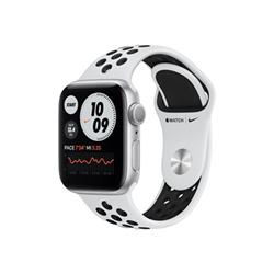 Smartwatch Apple - Watch Series 6 GPS+Cellular 44mm alluminio argento con cinturino Nike Sport
