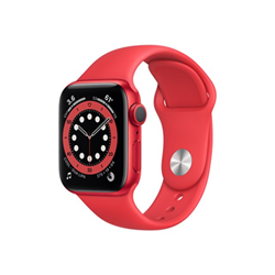 Smartwatch Apple - Watch series 6 (gps + cellular) (product) red - alluminio rosso m06r3ty/a