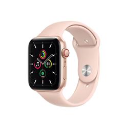 Smartwatch Apple - Watch SE GPS+Cellular 44mm alluminio oro con cinturino Sport rosa sabbia