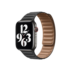 Image of 44mm leather link - cinturino per orologio per smartwatch my9m2zm/a
