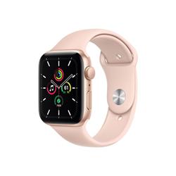Smartwatch Apple - Watch SE GPS 44mm alluminio oro con cinturino Sport rosa