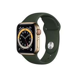 Smartwatch Apple - Watch series 6 (gps + cellular) - acciaio inossidabile oro m06v3ty/a