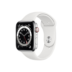 Smartwatch Apple - Watch series 6 (gps + cellular) - acciaio inossidabile argentato m09d3ty/a