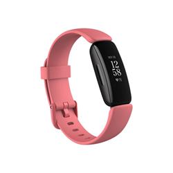 Smartwatch Fitbit - Inspire 2 Nero con cinturino in Silicone Rosa