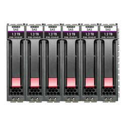 Hard disk interno Hewlett Packard Enterprise - Hpe enterprise - hdd - 7.2 tb - sas 12gb/s (pacchetto di 6) r0q65a