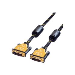 Cavo DVI Nilox - Roline gold - cavo dvi - 3 m ro11.04.5513