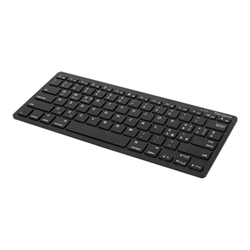 Tastiera Multi platform tastiera qwerty italiana nero b2b akb55it