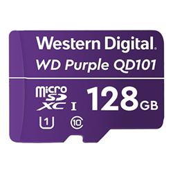 Micro SD Western Digital - Wd purple sc qd101 - scheda di memoria flash - 128 gb wdd128g1p0c