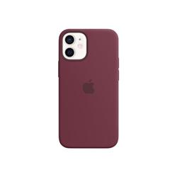 Cover Apple - £IP 12 MINI SIL CASE PLUM
