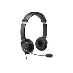 Adattatore di rete Kensington - Usb hi-fi headphones with mic - cuffie con microfono k97601ww