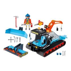 PlayMobil - Family fun - snow plow - set costruzioni 9500a