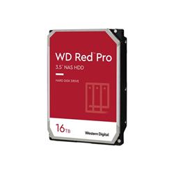 Hard disk interno Western Digital - Wd red pro nas hard drive - hdd - 16 tb - sata 6gb/s wd161kfgx